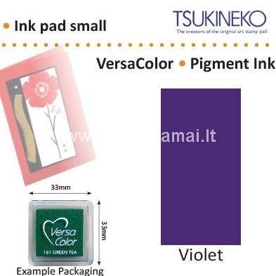 Fade resistant, traditional pigment ink. Embossing: Ideal for embossing.