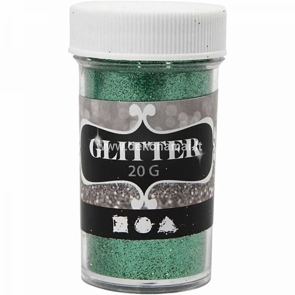 Glitter is perfect for adding a glitzy touch - comes in handy containers with shaker top