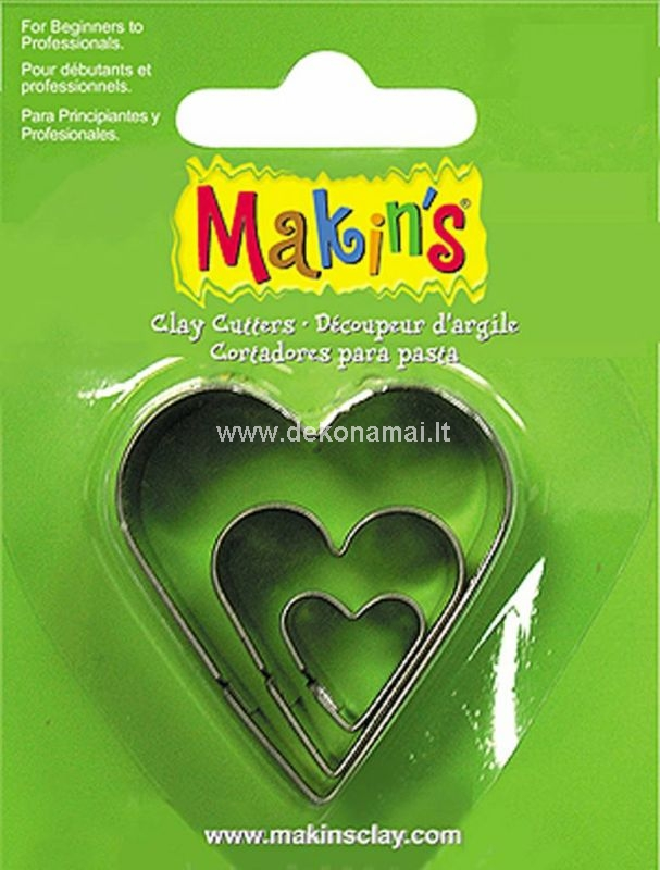 Makin's Clay has a wide range cutters which are suitable for both beginners and professionals! With these (food safe) cutters you can quickly and easily create a beautiful result.