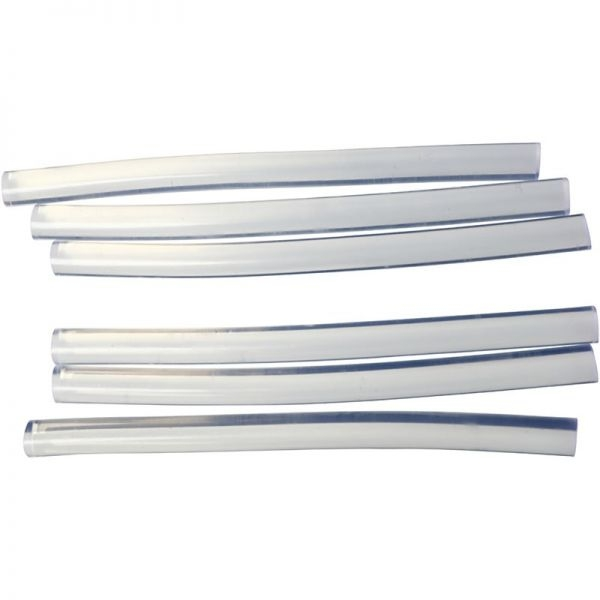 D: 7 mm, L: 10 cm  Clear glue for mini glue guns - suitable for both high and low temperature guns
