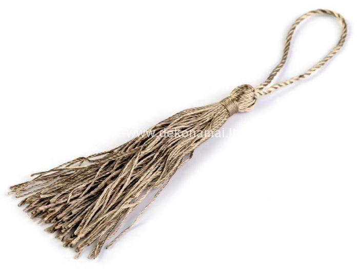 Length of tassel: 80 mm<br />Total length: 135 mm