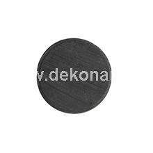 D: 20 mm, thickness 3 mm  Magnetic discs ideal for various craft projects