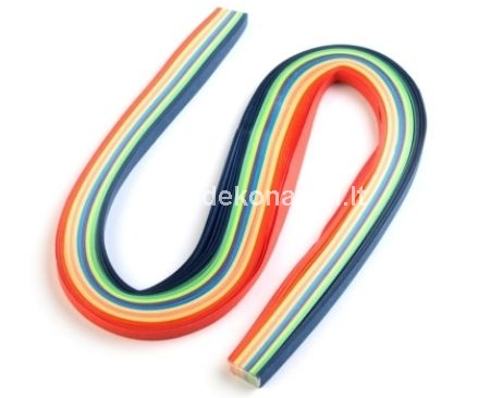 Quilling Paper Strips 5 mm, 100 pcs
