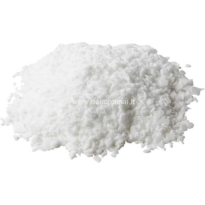 Pure vegetable stearin - mixed with pure paraffin (max. 15%) and used for molded candles. Melting Temperature: 70 &deg;C.<br />Should not be dyed and can not be used for dipping candles .