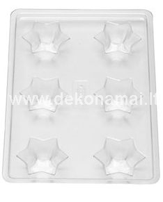 Size: 15x22cm. Transparent candle mould made from durable plastic - stays steady during the candle making process and is reusable  Heat-resistant up to 120C