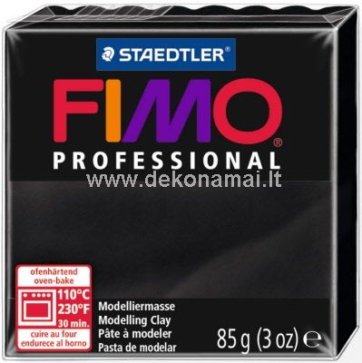 Oven-hardening (at 110oC for 30 min.) professional modelling clay blocks 85g and 350g<p>Former FIMO classic;<br />Premium quality for filigree results;<br />Extremely pliable and highly dimensionally stable;<br />Exact to condition;<br />True colours using the purest of pigments for brilliant blending results;<br />Blocks are resealable and easy to open;<br />Recommended quality for specialists, experts and artists.</p>
