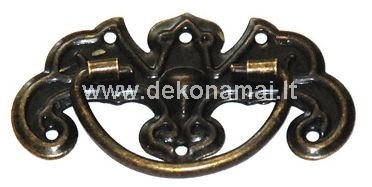 Size: 4.4 x 2.8cm, with fittings