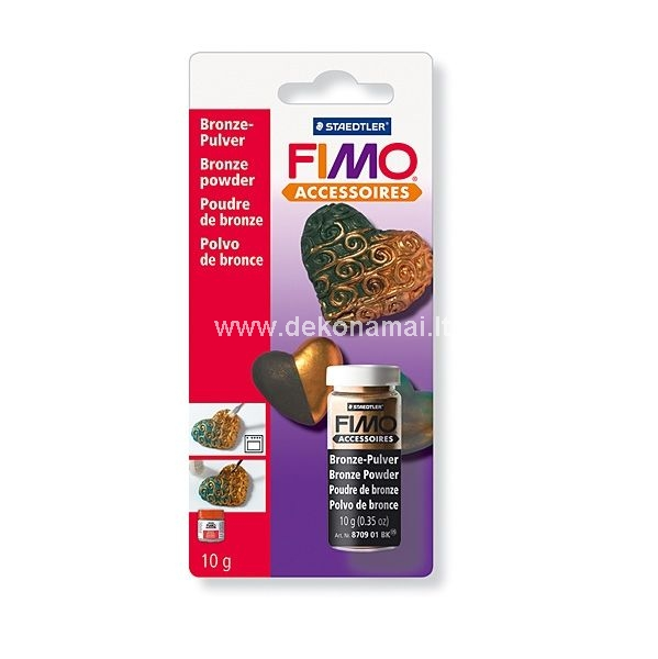 For impressive FIMO finishes     Can be fixed with varnish     For use on oven-hardening FIMO and FIMOair     The ideal extension to the FIMO range     Accessory particularly suitable for use with FIMO     The perfect accessory for working with an adding impressive finishes to our range of modelling clays