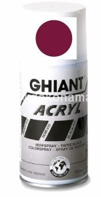 Ghiant Acryl spray paint, ph neutral, quick drying, weather resistant, with a neutral odour, and waterproof when dry.  Ghiant Acryl spray paint dries to a satin matt finish and is suitable for work in wood, metal, paper, card, glass, polystyrene and other surfaces. It is suitable for both indoor and outdoor use, and perfect for decoration, hobbies, and graphic design.